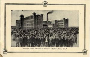 The Royal Typewriter Company manufacturing factory - Hartford, CT, circa 1906