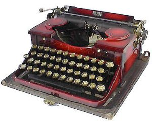 The Royal Portable Typewriter