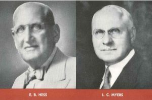 Royal Consumer Products Founders | E.B Hess and L.C. Myers