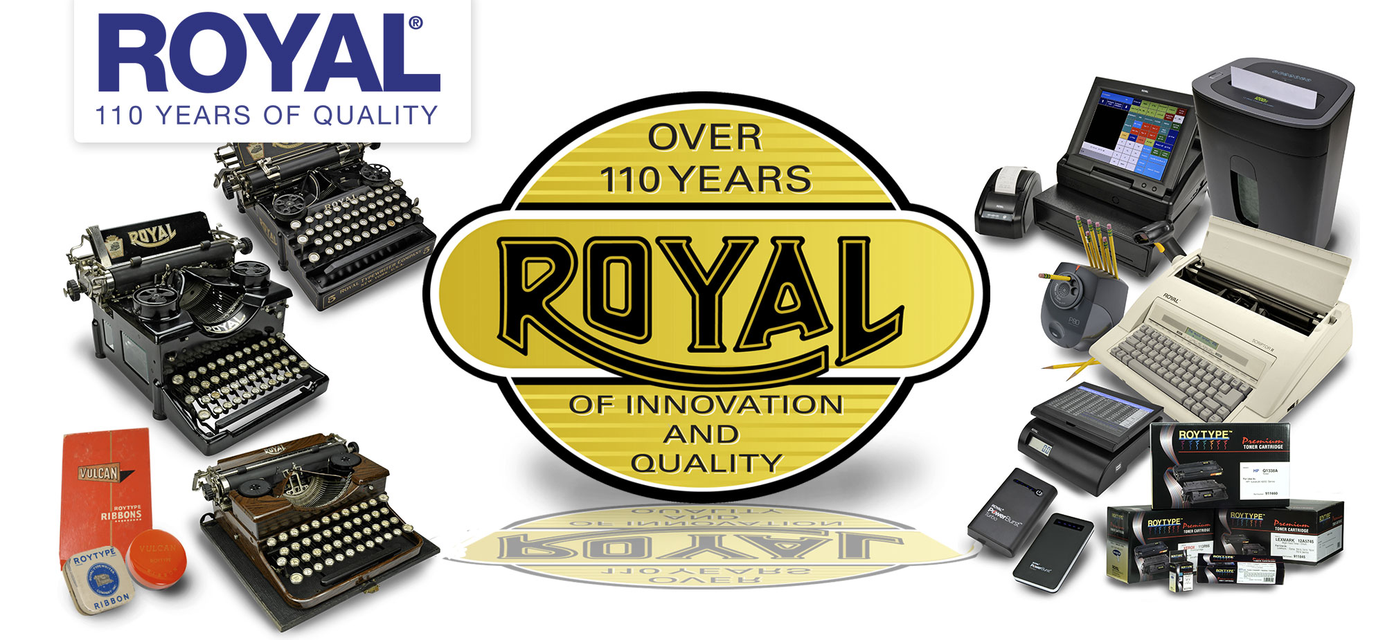 Over 110 years of Innovation and Quality |Royal Consumer Information Products
